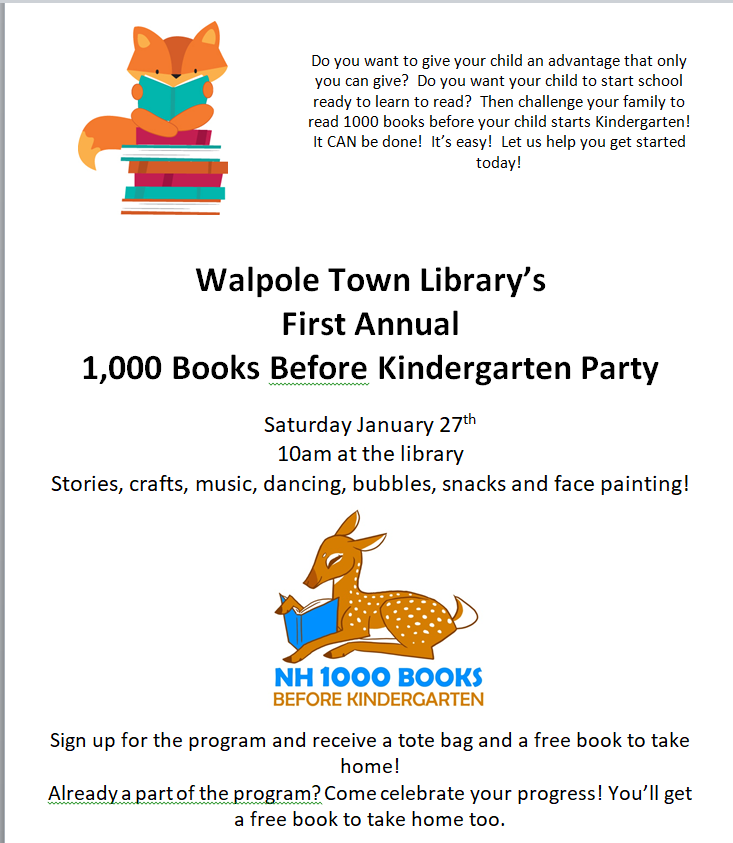 1,000 books flyer